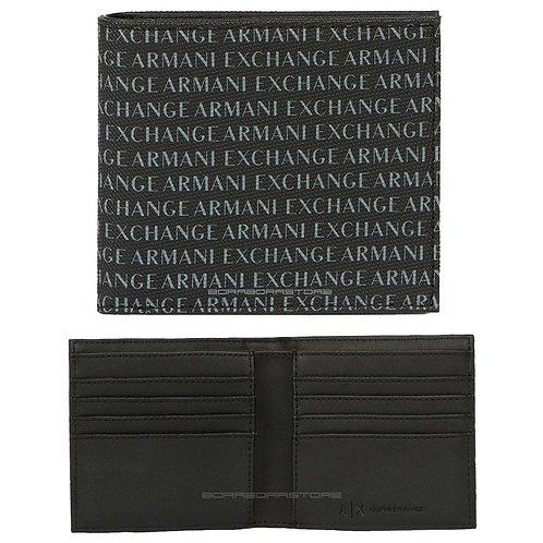 Portafoglio Armani Exchange uomo 958097 CC230 00020 Nero