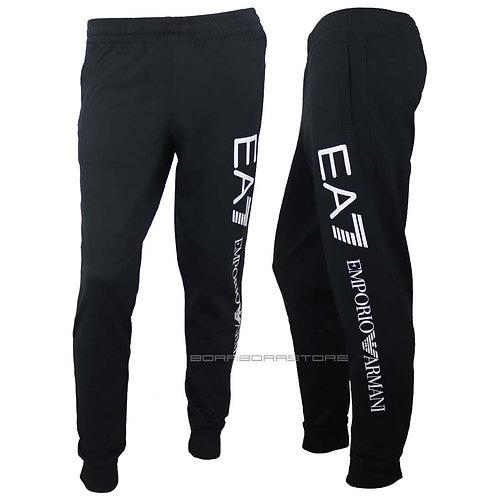 Emporio Armani EA7 Pantalone uomo 8NPPB5 nero felpato