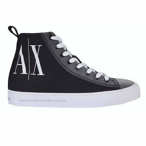 Scarpe uomo Armani Exchange sneakers XUZ021 XV212 00002 Nero