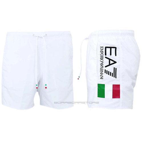 Costume uomo Emporio Armani  EA7 boxer mare 902044 0p729 Italia blu