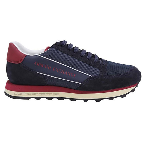 Armani Exchange Scarpe uomo sneakers XUX083 Xv263 Blu