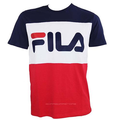 Fila T-shirt uomo blu rosso mod. Day Tee 681244