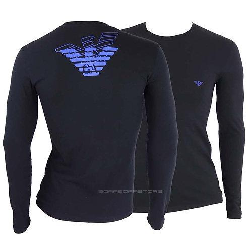 Emporio Armani T-shirt uomo 111023 0a725 Nero