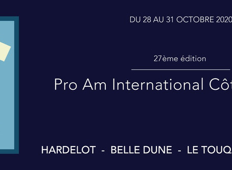 Pro am de la Côte d'Opale - 28 au 31 octobre
