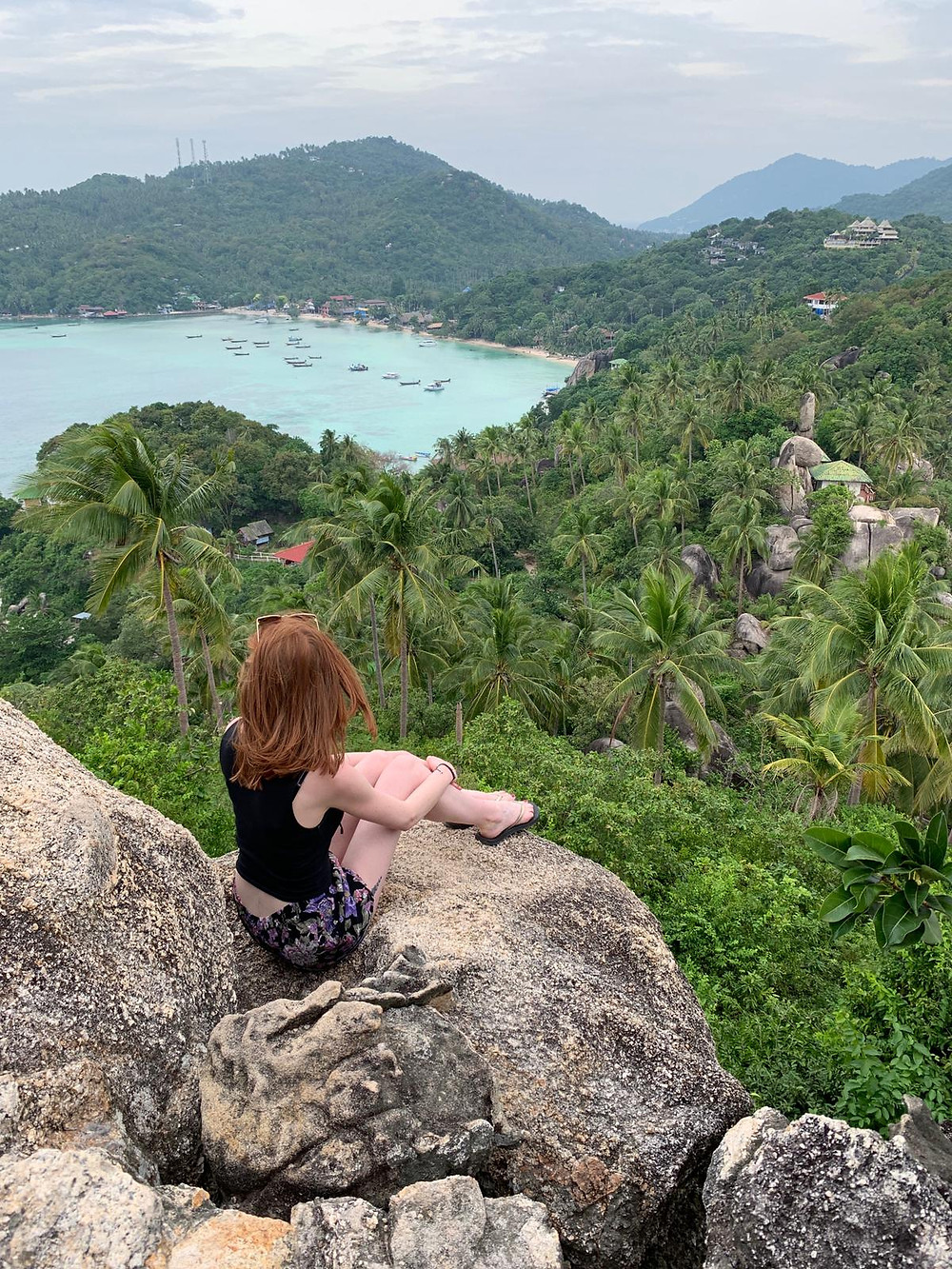 Enjoying the view in Thailand