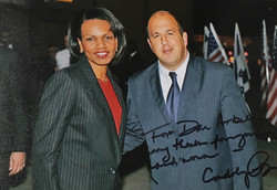 With Secratary of State Condoleezza Rice