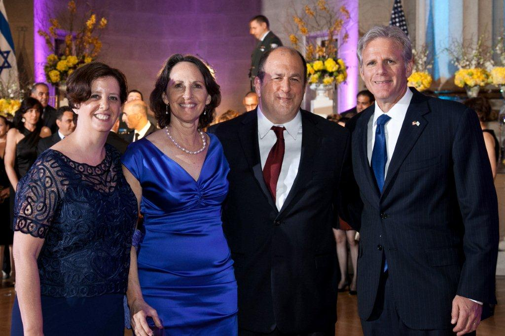 With Israeli Ambassador Michael Oren