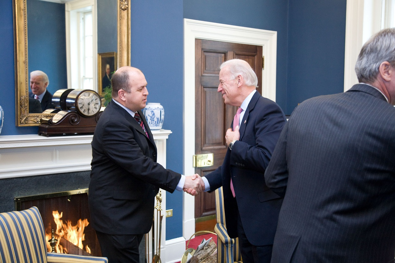 With Vice President Joe Biden