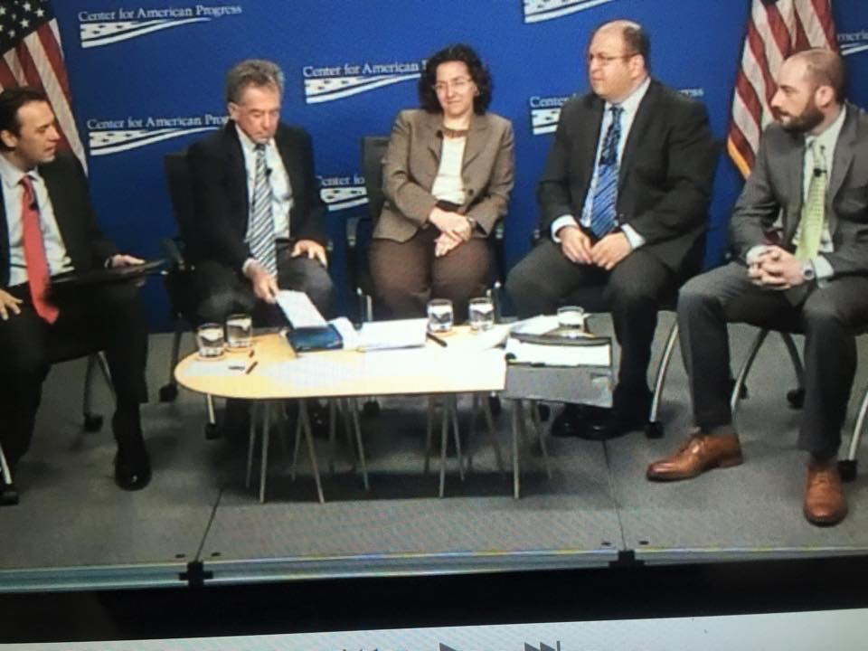 Panel Discussion at the Center for American Progress (CAP)