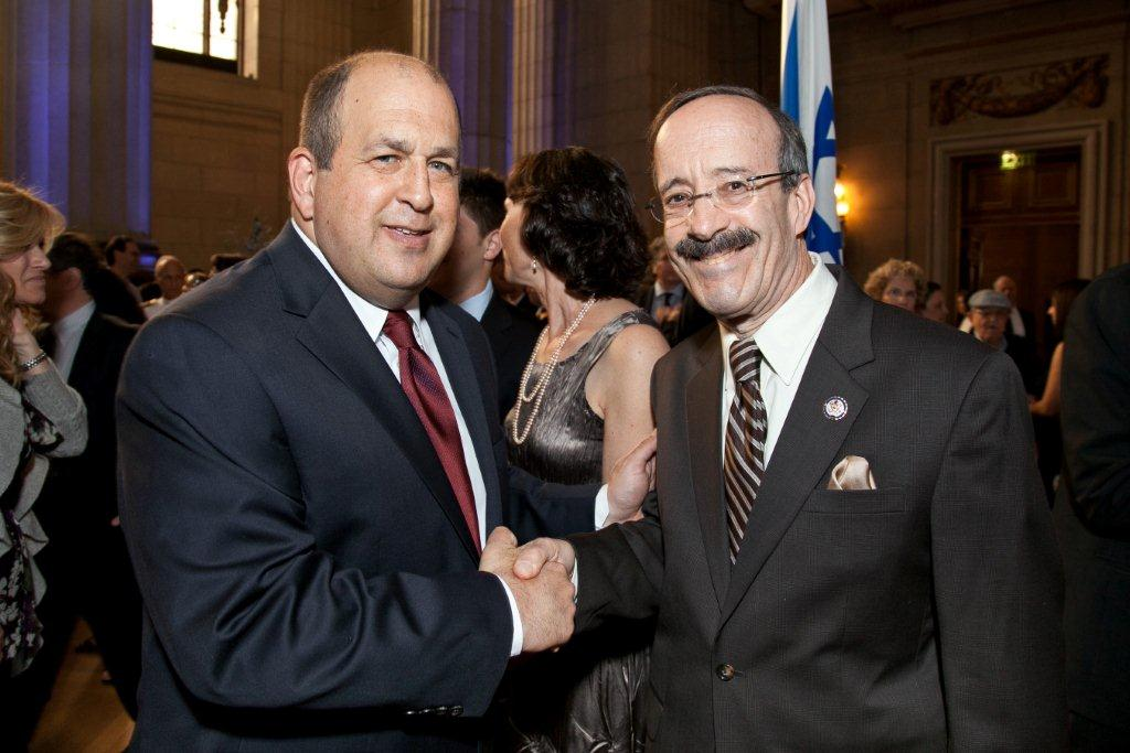 wIth Congressman Eliot Engel (D-NY)