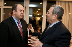 With Israeli Minister of Defense Ehud Barak