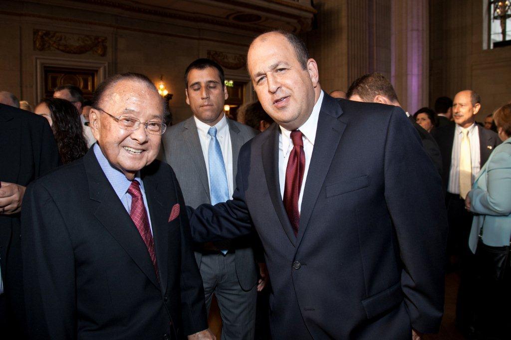 With Senator Daniel Inoue (D-HI)