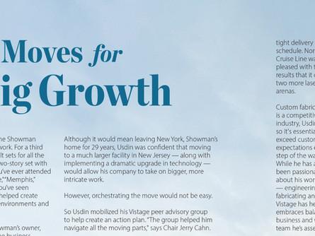 CEO Bob Usdin featured in Vistage Magazine