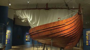 AMNH - Viking Boat