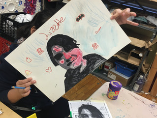 5th Grade Self-Portraits