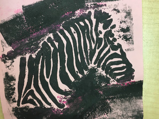 Animal Collagraphs : Round 2