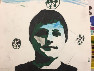 More Self-Portraits - 5th Grade