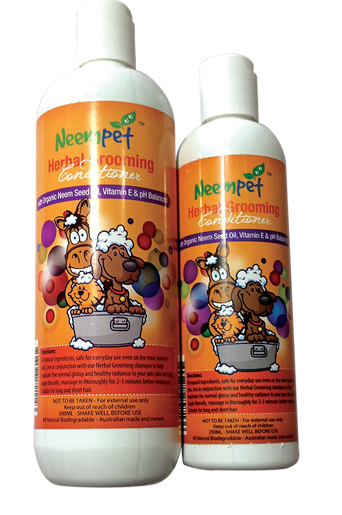 Naturapetics Neempet Herbal Grooming Conditioner - 250ml
