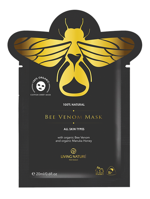 Living Nature Bee Venom Mask Single Sachet - 20ml
