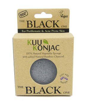Kuu Konjac 'Bamboo Charcoal' Sponge