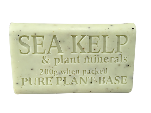 Sea Kelp & Colloidal Mineral Pure Plant Oil Soap 200gm