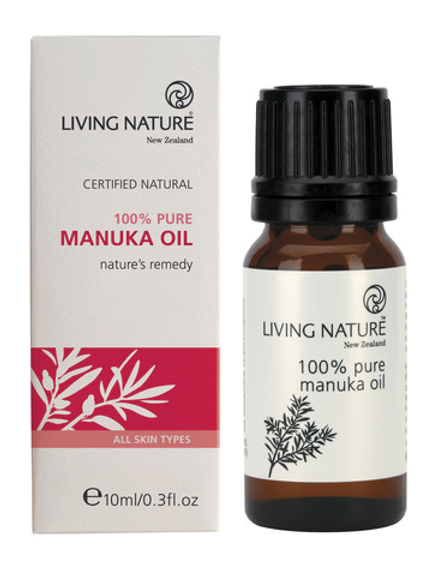 Living Nature Pure NZ Manuka Oil 10ml