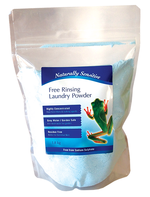 Naturally Sensitive Concentrated Free-Rinsing Laundry Powder - 1.8kg