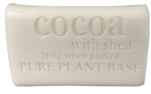 Cocoa and Shea Butter Pure Plant Oil Soap