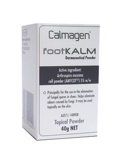Calmagen Foot Kalm Dermaceutical Powder 40g