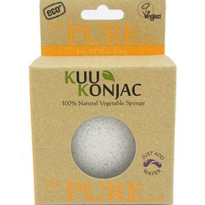 Kuu Konjac 'Pure' Sponge