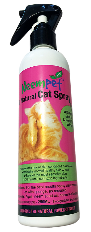 Naturapetics Neempet Cat Spray - 250ml