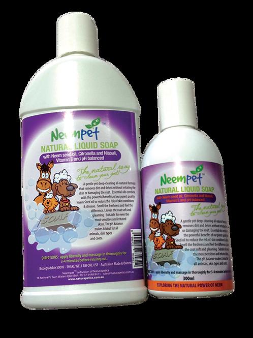 Naturapetics Neempet All Natural Liquid Soap