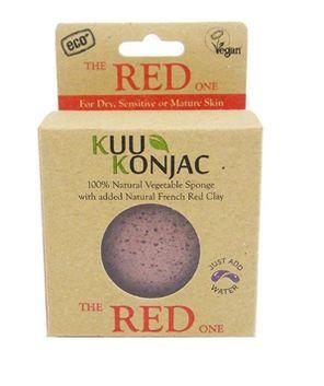 Kuu Konjac 'Red Clay' Sponge