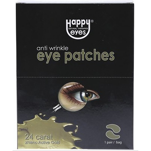 Happy Eyes Nano Gold Eye Patches 1 Pair
