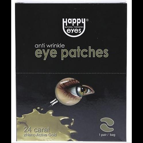 Happy Eyes Nano Gold Eye Patches 1 Pair