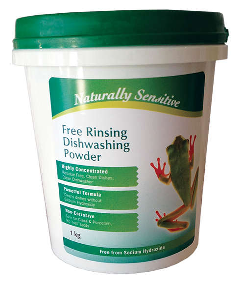 Naturally Sensitive Concentrated Free-Rinsing Dishwasher Powder - 1kg