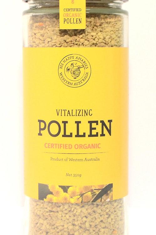 Bee Happy Certified Organic Raw Pollen - 350gm