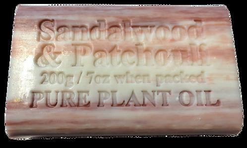 Sandalwood & Patchouli Pure Plant Oil Soap