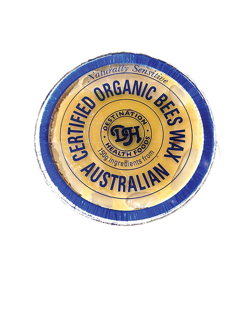 Naturally Sensitive Organic Beeswax Blocks - 150gm