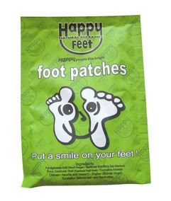 Happy Feet Detox Foot & Body Patches - 1 Pair