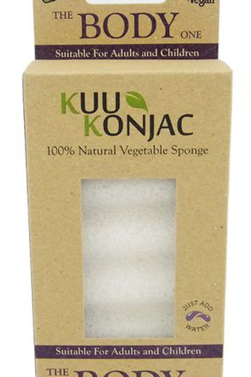 Kuu Konjac 6 Wave 'Body' Sponge
