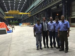 francesco zaglio innovative steel plant for jsw steel