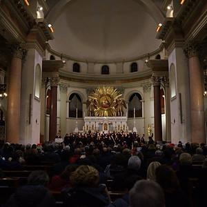 Concerto di Natale Basilica di Piazza Euclide