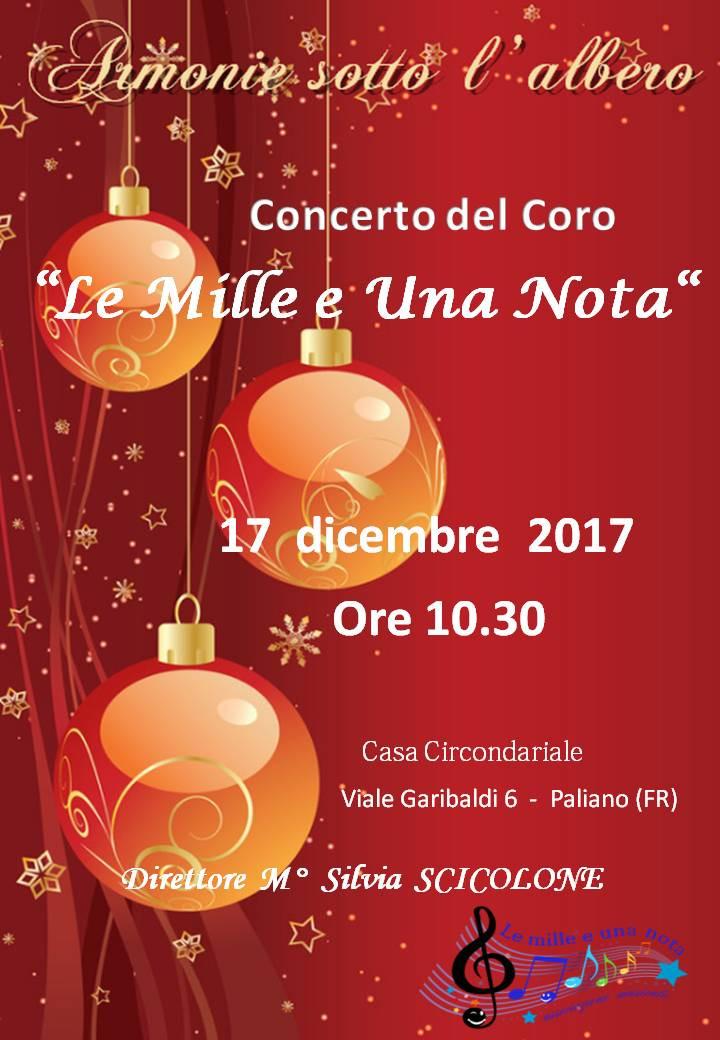 Concerto Casa di Reclusione Paliano 2017