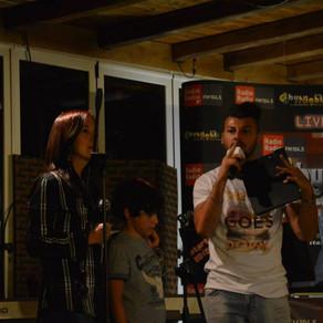 Serata degli allievi di canto moderno al Chiosco bello di Castelgandolfo