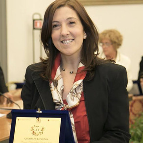 Premio personalità Europea a Silvia Scicolone