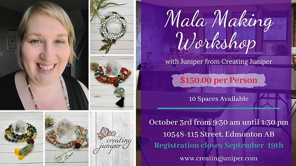 Mala Making Facebook Event Cover Photo (