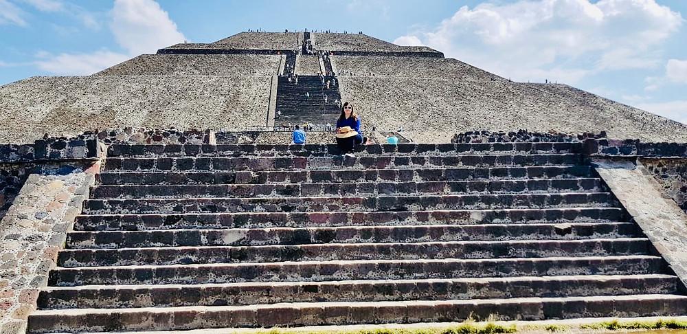 Teotihuacán, México. Pirámide del Sol.