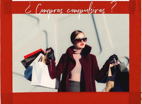¿Compras compulsivas?   ¿Qué estoy supliendo?