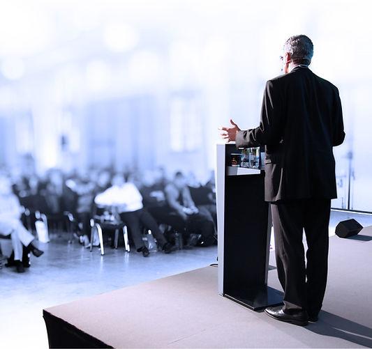 Kamerapräsenz bei einer Präsentation
